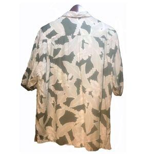 Tommy Bahama Shirts - Tommy Bahama Green Hawaiian Shirt Size M